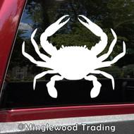 CRAB Vinyl Sticker - Crustacean Claws Beach Sea Creature King -V1- Die Cut Decal *Free Shipping*