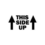 "THIS SIDE UP 5"" or 10"" Vinyl Decal Sticker - Jeep Off Road Truck ATV"