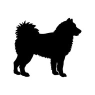 "ALASKAN MALAMUTE 5"" x 4.5"" Vinyl Decal Sticker - Mal Mally Dog"