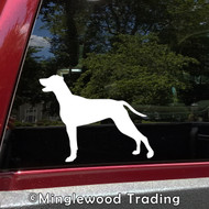 WEIMARANER Vinyl Sticker -V1- Gray Ghost Dog Puppy - Die Cut Decal
