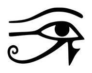 EYE OF HORUS Vinyl Decal Sticker - Egypt Ra Protection Power Health