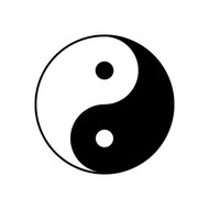 YIN YANG Vinyl Decal Sticker - Yin and Yang - Chinese Philosophy