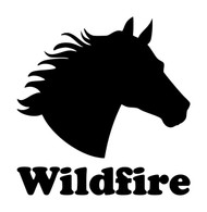 Horse Head -V4- with Personalized Name Vinyl Decal Sticker - Equestrian Farm Riding Dressage Equine Profile Silhouette