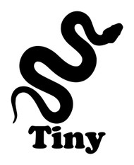 SNAKE with Personalized Name Vinyl Decal Sticker - Boa Ball Python Reptile Corn Gopher California Kingsnake