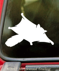 SUGAR GLIDER - Vinyl Decal Sticker - Pocket Pet Possum