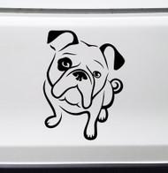 BULLDOG Vinyl Sticker -V2- English American Bully Dog Puppy - Die Cut Decal