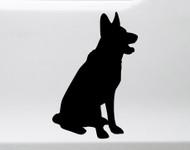 German Shepherd Vinyl Decal V1 - Dog Puppy GSD Alsatian Wolf Canine - Die Cut Sticker