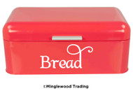 BREAD Vinyl Sticker - Kitchen Breadbox Label - Box Bin - Die Cut Decal - Swash