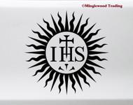 Society of Jesus IHS Vinyl Sticker Jesuits Die Cut Decal