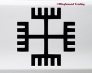 Hands of God vinyl die cut decal sticker by Minglewood Trading