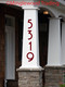 Vertical Modern Numbers - 1-10 inches - Custom House Address Mailbox Vinyl Sticker - Die Cut Decal - COPA