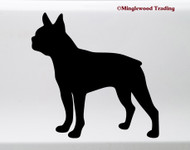 Boston Terrier V3 Vinyl Sticker - American Gentleman Dog Puppy - Die Cut Decal