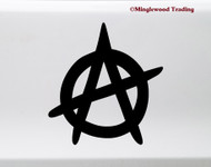 Anarchy Symbol Vinyl Sticker - Disorder Chaos - Die Cut Decal
