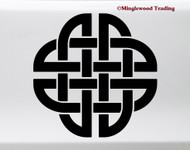 Celtic Knot V3 Vinyl Sticker - Endless Mystic Knot - Die Cut Decal
