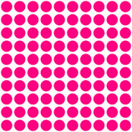 "Polka Dots - 100 1"" dots - Vinyl Decal Stickers"