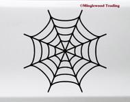 Spider's Web Vinyl Sticker - Halloween Spooky - V1 Die Cut Decal