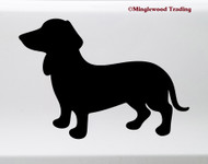 Dachshund Vinyl Sticker - Wiener Dog Puppy Doxie - Die Cut Decal V2