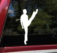 Irish Dancing Boy V1 Vinyl Decal - Man Step Dancer Ireland Dance - Die Cut Sticker