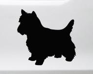 Cairn Terrier Vinyl Decal V1 - Dog Puppy Scottish - Die Cut Sticker