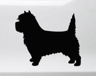 Cairn Terrier Vinyl Decal V2 - Dog Puppy Scottish - Die Cut Sticker
