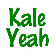 "Kale Yeah - Vinyl Decal Sticker - 5"" x 4.5"""