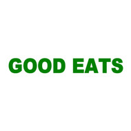 "Good Eats Vinyl Decal Sticker - Kitchen Diner Restaurant Cook Chef 11.5"" x 1.5"""