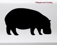 HIPPO Vinyl Sticker - Hippopotamus Water Horse Pygmy - Die Cut Decal