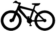 "Mountain Bike Biking MTB ATB Bicycle XC Downhill - Vinyl Decal Sticker - 5.5"" x 3"""