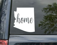 "Arizona State Vinyl Decal Sticker 6"" x 5"" Home - Phoenix Sun"