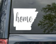 "Arkansas State Vinyl Decal Sticker 6"" x 5.5"" Home - AR Little Rock"