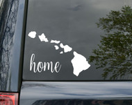 "Hawaii State Vinyl Decal Sticker 6"" x 4.5"" Home HI Aloha Hawaiian"