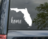 "Florida State Vinyl Decal Sticker 6"" x 5.5"" Home FL Gators Walt Disney"