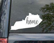 "Kentucky State Vinyl Decal Sticker 6"" x 3"" Home KY Wildcats"