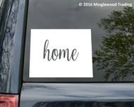 "Wyoming State vinyl decal sticker 6"" x 4.5"" WY Home"