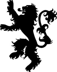 "House Lannister Sigil vinyl decal sticker 6"" x 7.5"" Game of Thrones Tyrion Jaime"