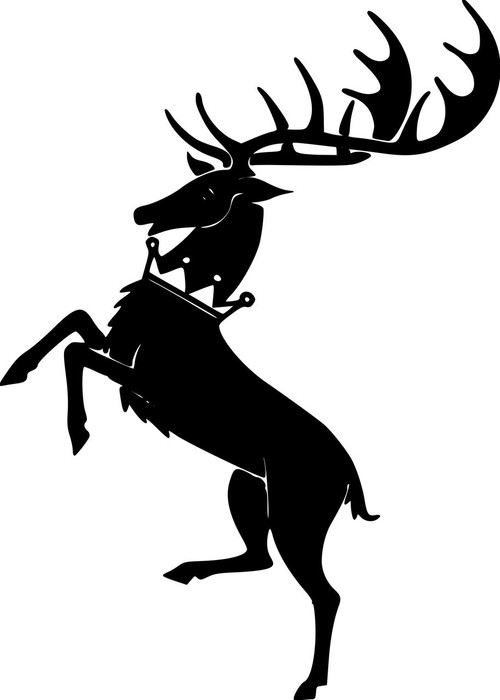 House Baratheon Sigil Vinyl Decal Sticker 5 Quot X 7 Quot Ours Is
