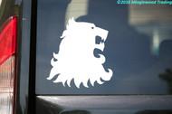"House Lannister Sigil v2 vinyl decal sticker 6"" x 6.5"" Hear the Roar Westeros"