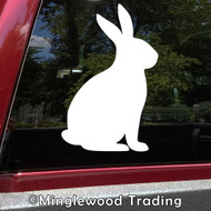 BUNNY RABBIT Vinyl Sticker - Hare Easter - Nursery Walls Decor - Die Cut Decal