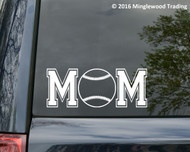 "Baseball Mom custom vinyl decal sticker 7"" x 2.75"" Travel Ball Little League Sports"