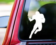 FOOTBALL PLAYER -V1- Vinyl Sticker - Running Back Wide Receiver - Die Cut Decal