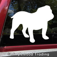BULLDOG Vinyl Sticker - English British Dog Puppy Canine - Die Cut Decal