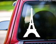 "Eiffel Tower vinyl decal sticker 11"" x 6"" Paris France"