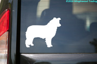 "Border Collie vinyl decal sticker 5"" x 4"" Herding Dog"