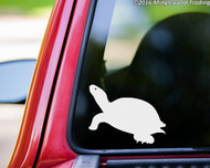 "Turtle vinyl decal sticker 5"" x 4"" Tortoise Shell"