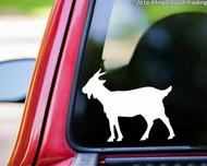 "Goat vinyl decal sticker 5"" x 4"" Billy Goat Kid"