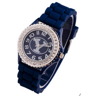 BYU Brigham Young Cougars Jelly Watch