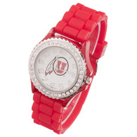 Utah-Utes-Ladies-Jelly-Watch