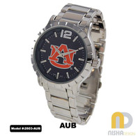 Auburn-Tigers-Mens-Metal-Watch