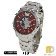 Florida-State-Seminoles-Mens-Metal-Watch