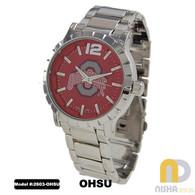 Ohio-State-Buckeyes-Mens-Metal-Watch